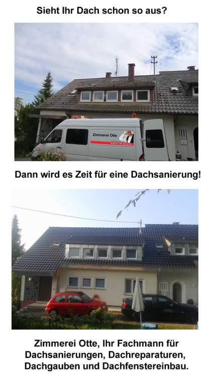 Dachsanierung, Dachdecker in Kirchberg an der Murr