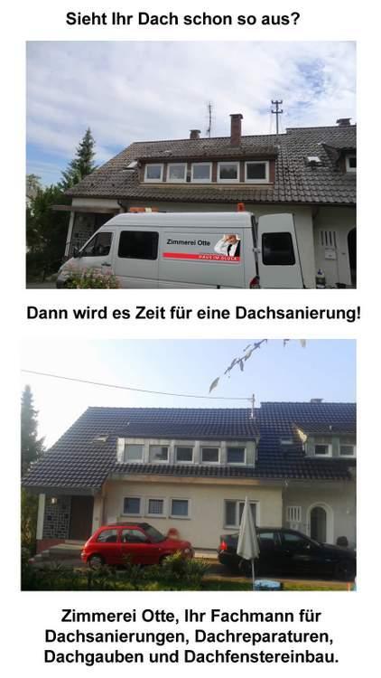 Dachsanierung, Dachdecker für Freudenberg