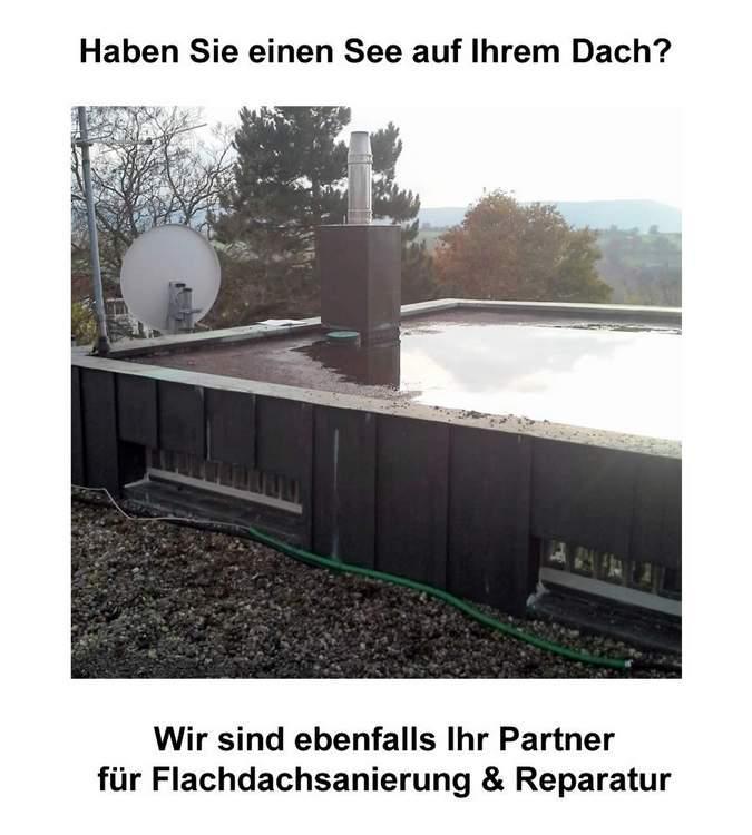 Flachdachsanierung in Kirchberg an der Murr