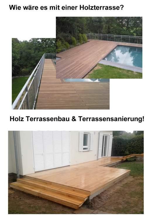 Holz Terrassenbau in Kirchberg an der Murr