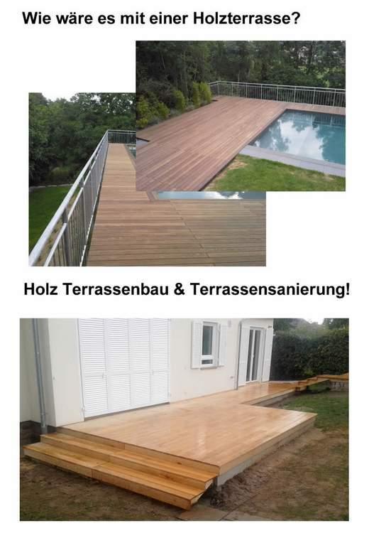 Holz Terrassensanierung  Röttingen